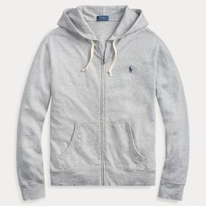 Ralph Lauren LS Cotton Spa Terry Zip Up Hoodie NEW